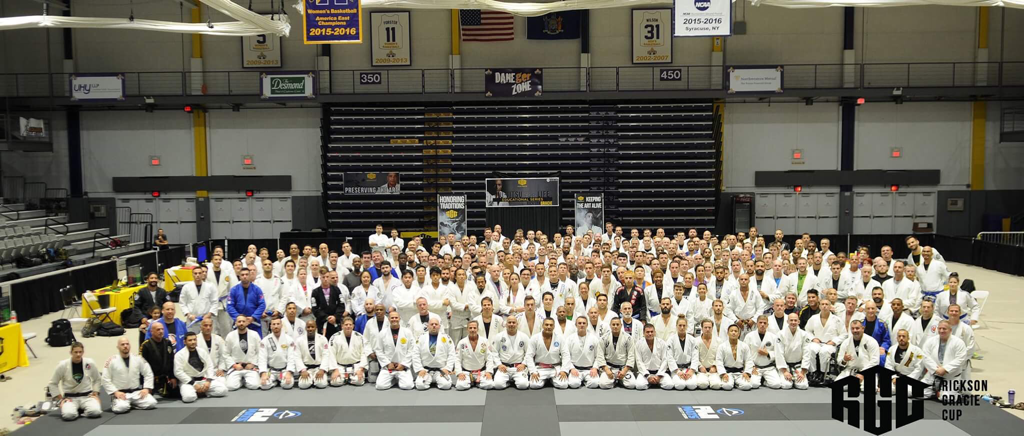 Rickson Gracie Seminar Biggest Ever Jiu Jitsu Albany NY Eddie Fyvie