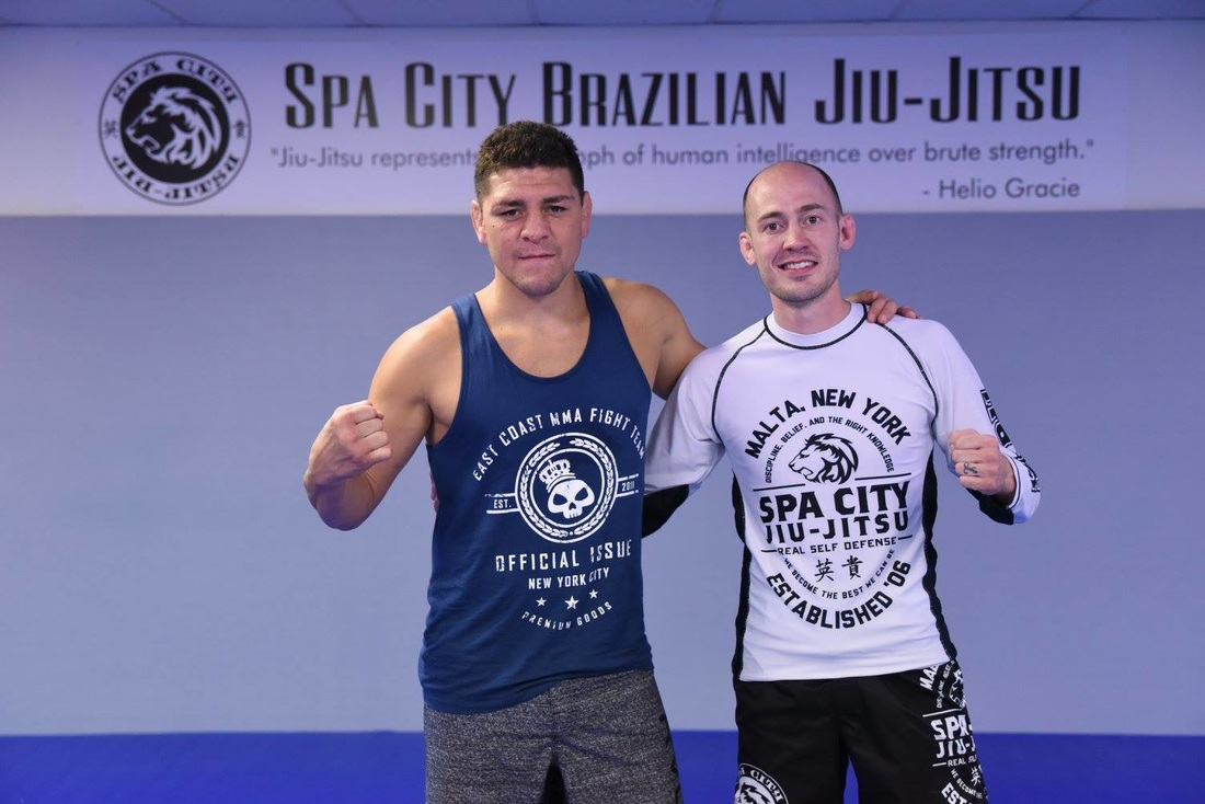 Nick Diaz and Eddie Fyvie Malta Ny