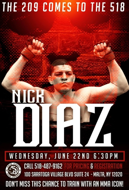 UFC Nick Diaz Seminar in Saratoga