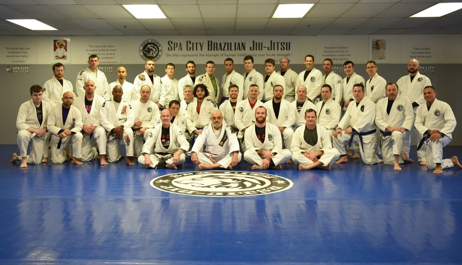 Jiu Jitsu Martial Arts Red Belt Flavio Behring in Ballston Spa