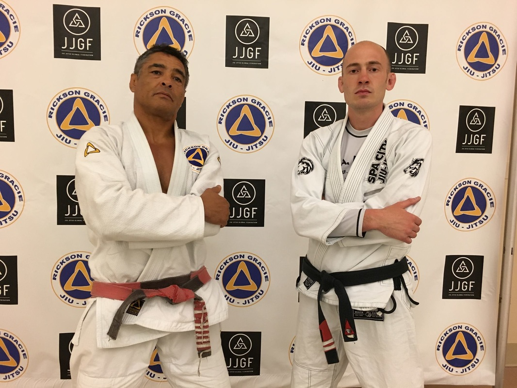 Rickson Gracie and Eddie Fyvie Jiu Jitsu Seminar