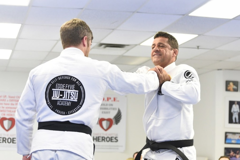 Jiu-Jitsu ju Jitsu self-Defense martial arts in Malta Saratoga springs Ballston spa Clifton Park Luis Heredia seminar Rickson Gracie black belt