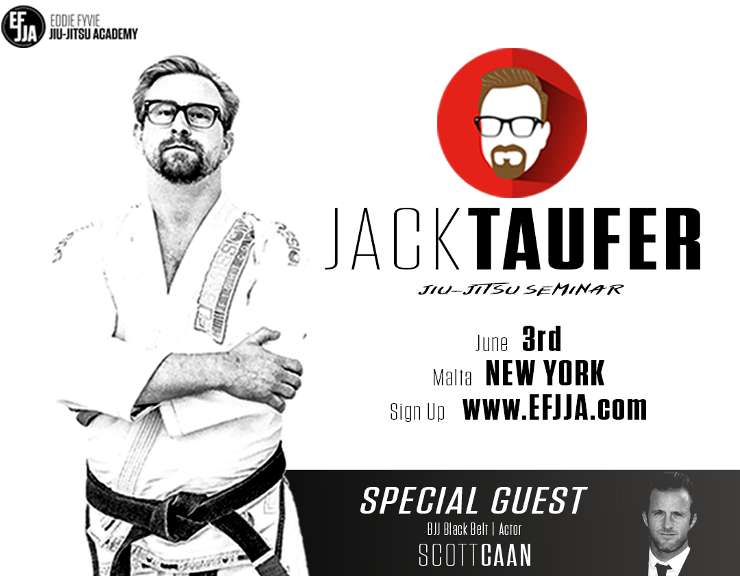 Jack Taufer Jiu-Jitsu BJJ seminar in Malta NY at The Eddie Fyvie Jiu-Jitsu Academy with famed Actor Scott Caan Black Belt Martial Arts